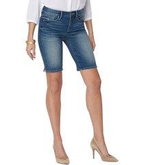 women's nydj briella denim shorts, size 00 - blue