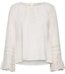 abigail blouse blouse lange mouwen wit odd molly