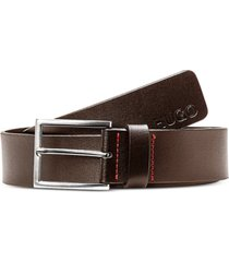 boss men's giaspo smooth leather belt