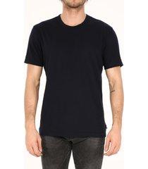 james perse cotton t-shirt blue