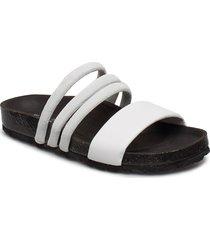 cara puff shoes summer shoes flat sandals svart shoe the bear