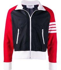 4-bar mesh track jacket