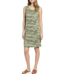 women's caslon muscle tank dress, size x-small - green