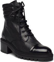 booties shoes boots ankle boots ankle boot - flat svart billi bi