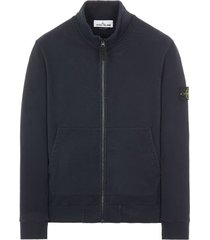 stone island full zip sweatshirt