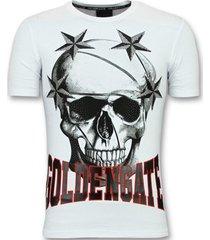 t-shirt korte mouw enos t-shirts voor - glitter shirt -