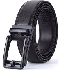 cinturon correa hombres hebilla lujo aleacion 125cm tipo c