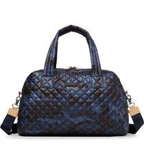 mz wallace jimmy nylon duffle bag - blue