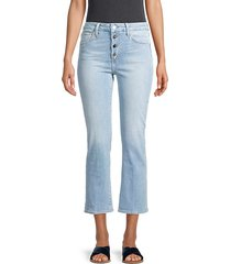 bootie leg cropped jeans