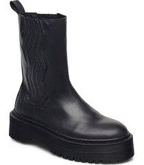 marleegz chunky boots regnstövlar skor blå gestuz