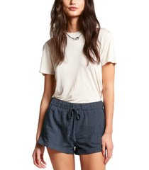 volcom sunday strut drawstring shorts