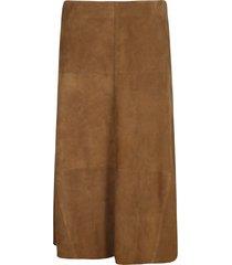 arma rear zip skirt
