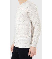 sweater brave soul crudo - calce regular