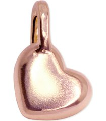 alex woo heart mini-charm in 14k rose gold