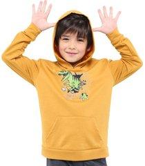 buzo hoodie screen dinosaurio