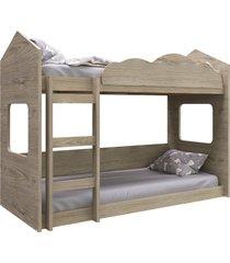 beliche montessoriano casinha montreal completa móveis
