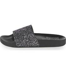 slip-in alba moda svart::silverfärgad