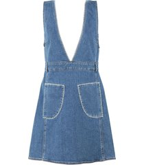 see by chloé overall skirts