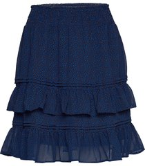 fqsanna-sk kort kjol blå free/quent