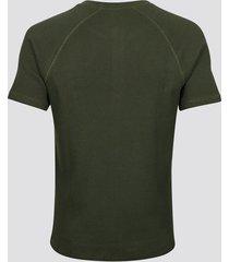 walter t-shirt - mörk militärgrön