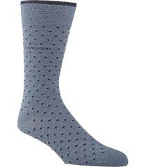 calvin klein men's giza pindot crew socks