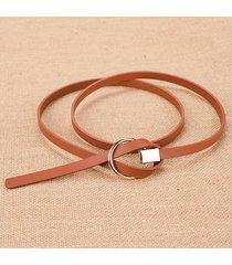 cinturón para mujer/estilo accesorio/ sra.-marrón