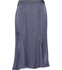 killa skirt knälång kjol blå soft rebels
