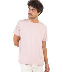 t-shirt básica comfort salmao salmao/p - kanui