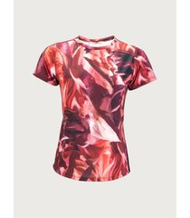 camiseta estampada manga corta para mujer 10166