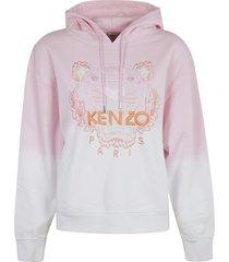 kenzo dip dyed boxy hoodie