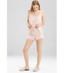 fairytale shorts pajamas, women's, pink, size l, josie