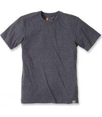 carhartt t-shirt men maddock non pocket short sleeve carbon heather-xl