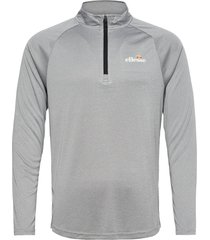 el bovaro 1/2 zip top sweat-shirt tröja grå ellesse