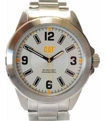 reloj plateado cat 02