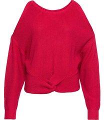 maglione con cut-out (rosso) - rainbow