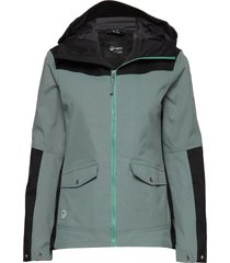 hiker women's drymaxx outdoor jacket outerwear sport jackets blå halti