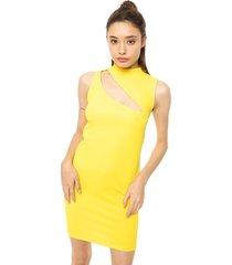 vestido amarillo prussia jackie