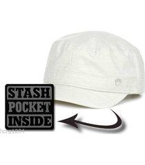 no bad ideas clothing co. nbi hooked up castro style cap hat w / stash pocket