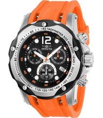 reloj invicta 20072 naranja poliuretano