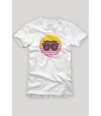 camiseta reserva uso óculos - masculino