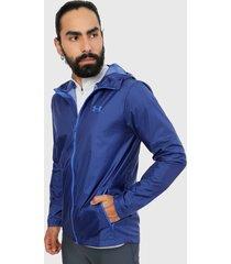 chaqueta azul under armour ua forefront