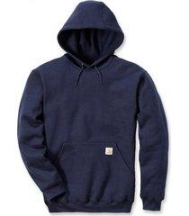carhartt trui men hooded sweatshirt new navy-s
