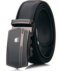 cinture di lusso degli uomini di affari di 125cm di buona qualità cinture di lusso autentiche delle cinture della cinghia dei pantaloni