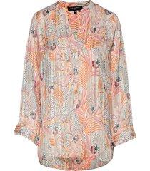shirt blouse lange mouwen multi/patroon ilse jacobsen