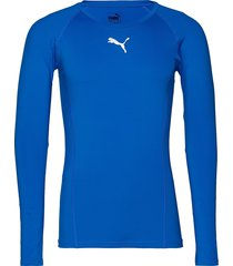 liga baselayer tee ls t-shirts football shirts blå puma