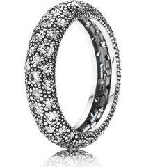 anel de prata brilho da constelação