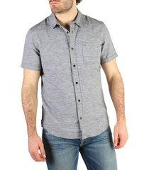 overhemd korte mouw calvin klein jeans - j30j304620