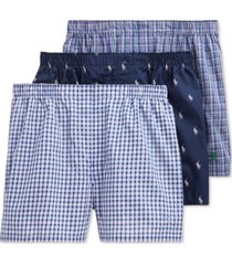 polo ralph lauren men's 4-pk. classic cotton boxers