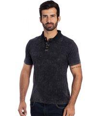 camisa tricot polo y le tisserand black stone preto