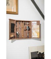 l'atelier du vin wine lover's curiosities cabinet in brown at nordstrom
